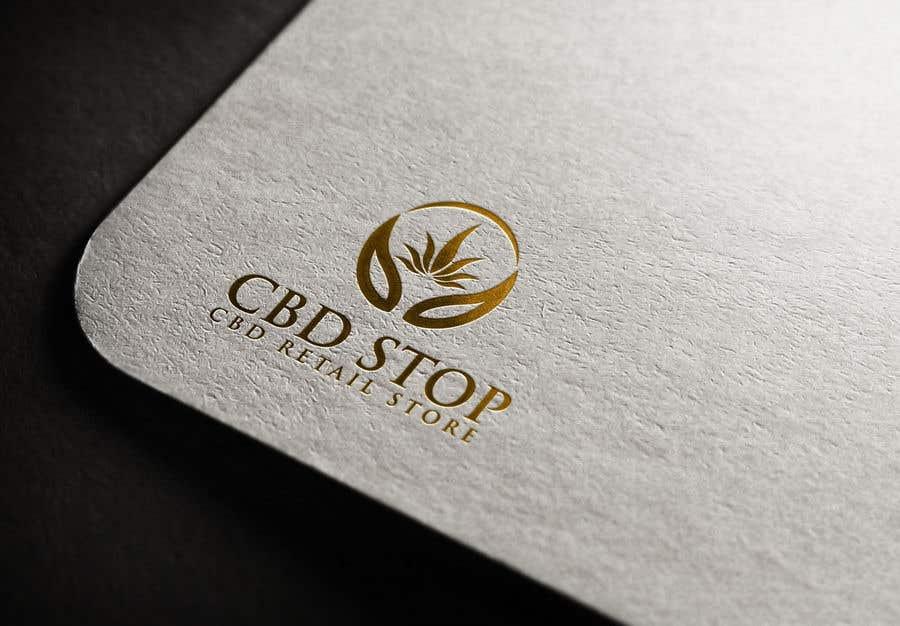 Kilpailutyö #193 kilpailussa CBD Stop Logo