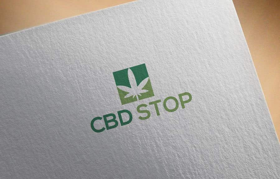 Kilpailutyö #127 kilpailussa CBD Stop Logo