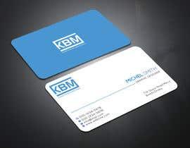 #41 para Design a Logo & Business Cards for KBM | Diseño de Logo y Tarjetas para KBM por eiasinalam40