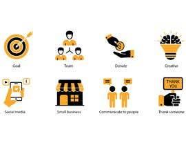 #25 for Get / Design 8 icons (symbols) af rhu586c9ed66e5f9