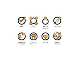 #17 for Get / Design 8 icons (symbols) af GreentriK6789