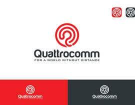 #1293 cho Desing a logo for Quattrocomm. bởi mariadesign78