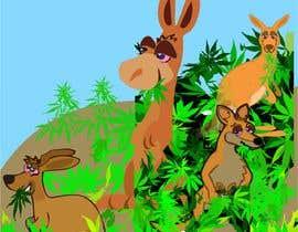 #34 для Graphic Design: Stoned Kangaroo от vw8166895vw