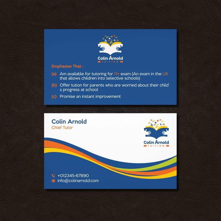 Kilpailutyö #256 kilpailussa Design a business card