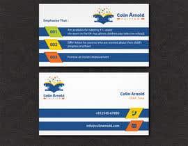 Nro 325 kilpailuun Design a business card käyttäjältä sabuj092