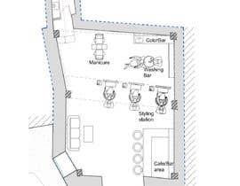 #41 cho Design our new beauty salon bởi ssquaredesign