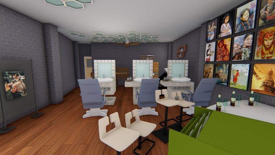 Bài tham dự cuộc thi #36 cho Design our new beauty salon