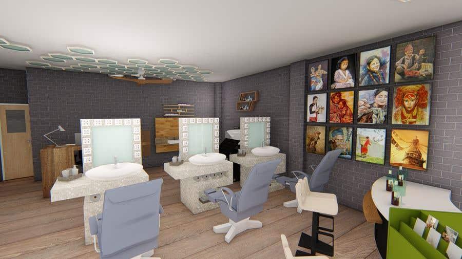 Bài tham dự cuộc thi #39 cho Design our new beauty salon