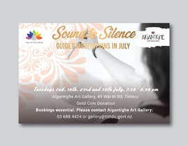Nro 38 kilpailuun Poster for series of meditation classes in an art gallery käyttäjältä MOMODart