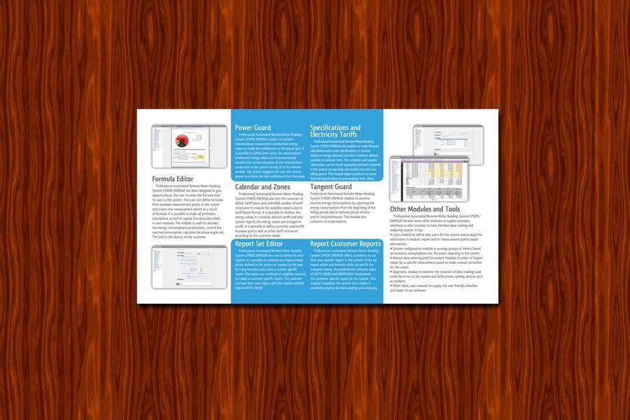Entri Kontes #8 untukBrochure Design for Telemetry System Software