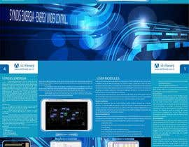 #14 for Brochure Design for Telemetry System Software by Raptorel