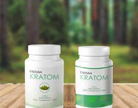 mindlogicsmdu tarafından Design clean modern packaging for Kratom supplement bottle için no 22