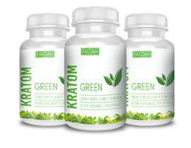 fredrickbalois tarafından Design clean modern packaging for Kratom supplement bottle için no 24
