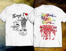 Nro 18 kilpailuun T-Shirt Designs käyttäjältä ubhiskasibe