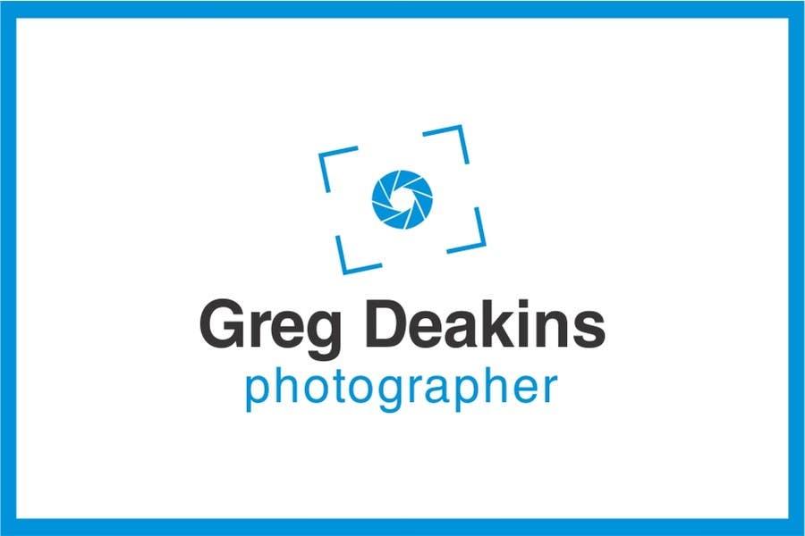 Contest Entry #37 for Logo Design for Greg Deakins - Photographer