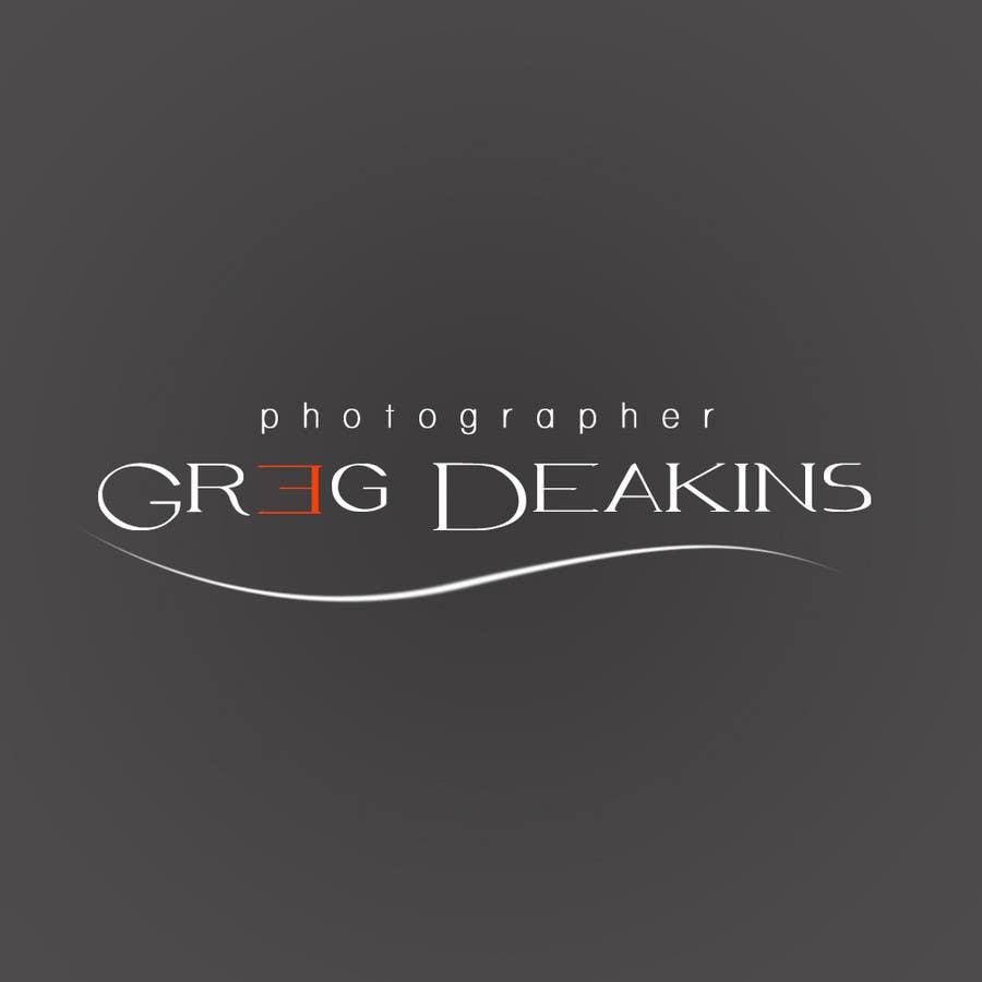 Contest Entry #25 for Logo Design for Greg Deakins - Photographer