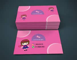 #28 untuk Cartão de Visitas para Loja de Laços para meninas oleh Tusher6