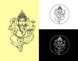 #3 for Ganesha - the elephant-headed god in Hinduism Vector Design af tanmoy4488