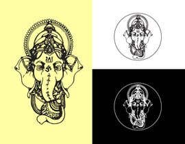 #4 for Ganesha - the elephant-headed god in Hinduism Vector Design af tanmoy4488