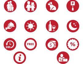 Nro 36 kilpailuun Create a logo and a set off icons/logos and a colour scheme käyttäjältä rehannageen