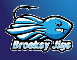 #47 cho Fishing Logo Brooksy Jigs bởi gallipoli