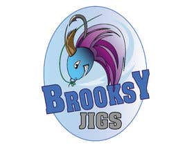 #37 cho Fishing Logo Brooksy Jigs bởi Wooddoost