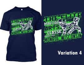 #26 untuk Karate Tournament T-Shirt Design oleh Sourov75