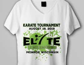 #11 untuk Karate Tournament T-Shirt Design oleh rbcrazy