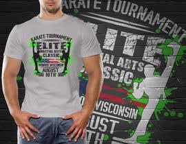 #17 untuk Karate Tournament T-Shirt Design oleh hasembd