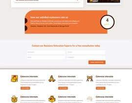 #11 untuk Redesign ONE page of a website. oleh kreativewebtech