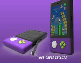 #46 for Product ID Design-handheld retro video game console with power bank( portable charger) function by danzali