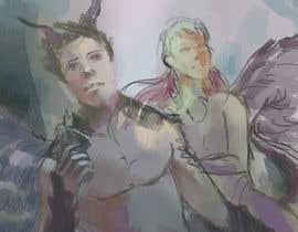 #38 untuk Draft Sketch of Fictional Characters - Anime or Fantasy - Original Work Only! oleh minhGL