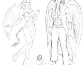 #2 untuk Draft Sketch of Fictional Characters - Anime or Fantasy - Original Work Only! oleh ronggott