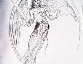 #33 untuk Draft Sketch of Fictional Characters - Anime or Fantasy - Original Work Only! oleh BibinAJ