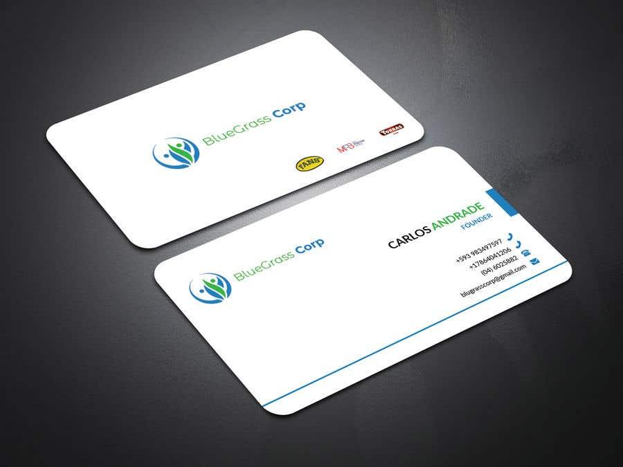Konkurrenceindlæg #80 for Build me a Business Card and Company logo