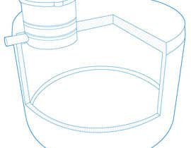 #14 for Simple Line Drawing Required. af jdstitch00