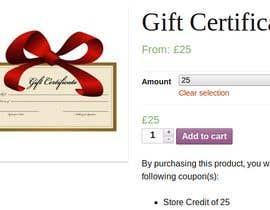Nro 26 kilpailuun bull;d me a gift card website käyttäjältä Arakibsarkar668