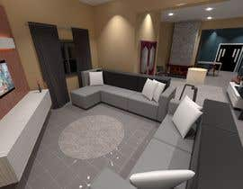#10 untuk Ground floor interior design oleh farahnajlaa89