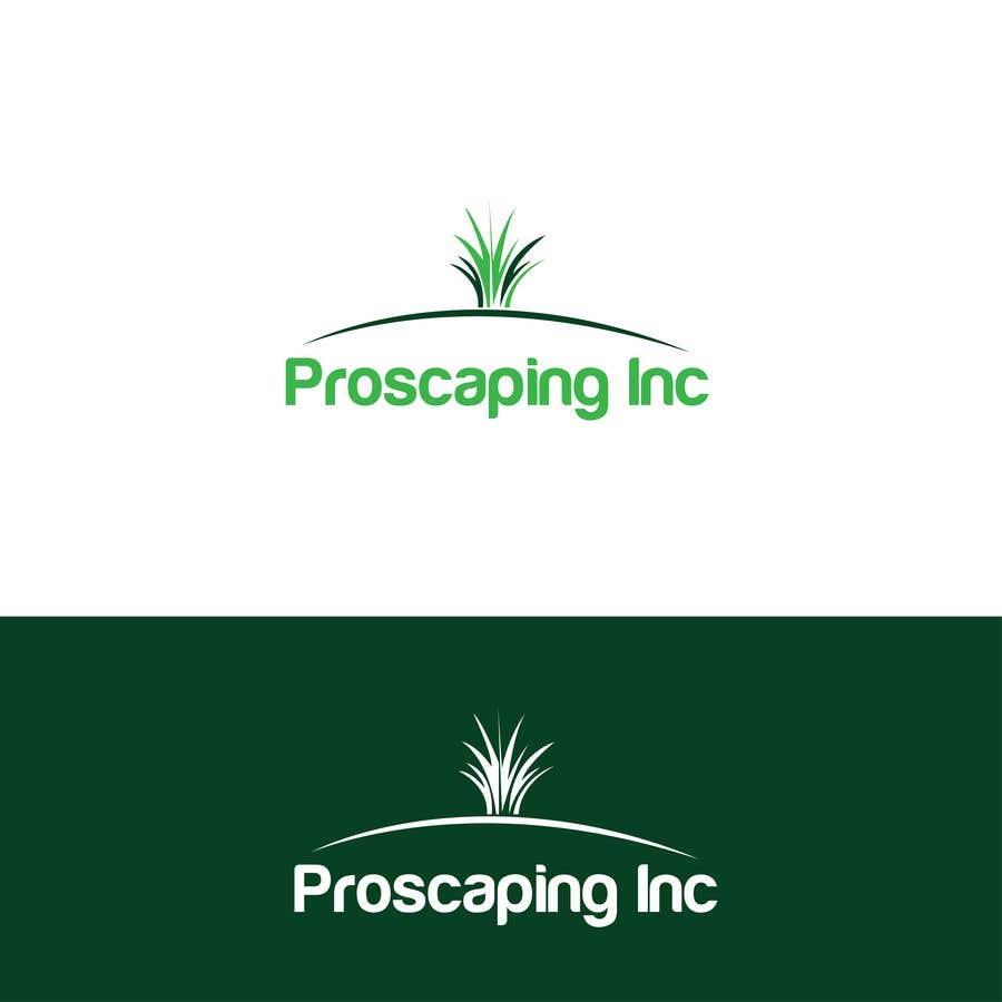 Penyertaan Peraduan #420 untuk Create a Logo for ProScaping Inc.