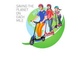 #10 untuk ILUSTRATION PICTURE FOR ELECTRIC SCOOTERS BUSINESS LANDING PAGE FIRST IMAGE oleh letindorko2