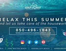 nº 45 pour Summer graphic design advertisement par kajajo