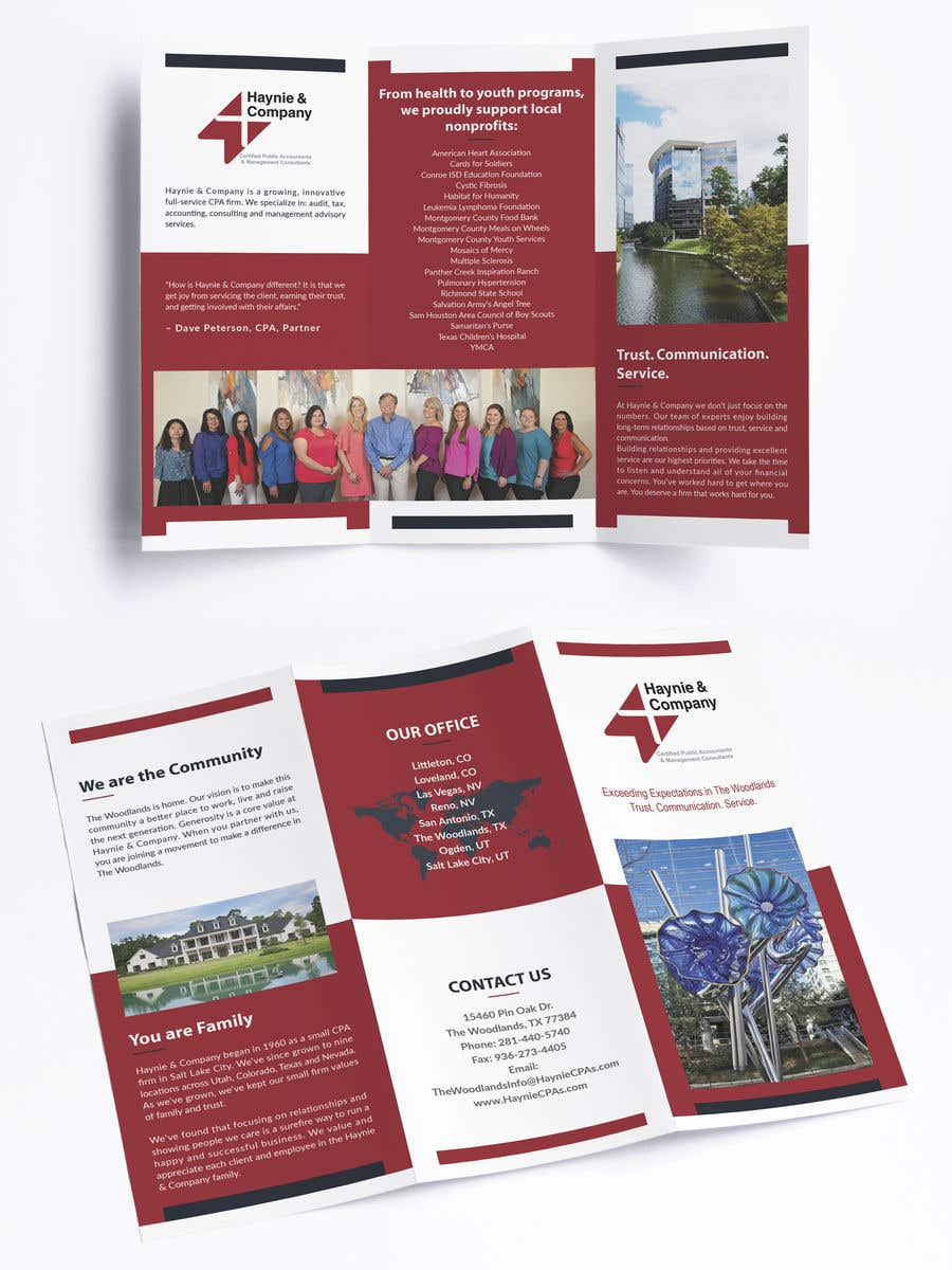 Entry #18 by nevarun for Build me a Tri-fold Brochure
