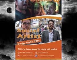#20 untuk Design a Flyer for Social Artist Events oleh tahira11