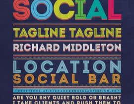 #16 untuk Design a Flyer for Social Artist Events oleh filipzirbo