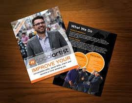 #21 untuk Design a Flyer for Social Artist Travel Events oleh ayubhassan