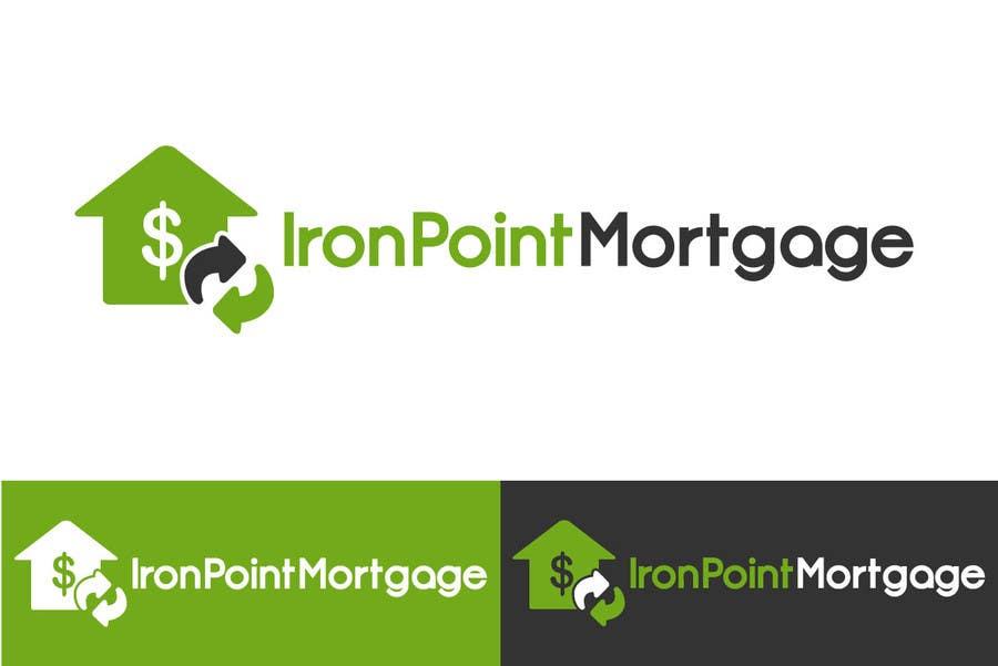 Bài tham dự cuộc thi #179 cho Logo Design for Iron Point Mortgage