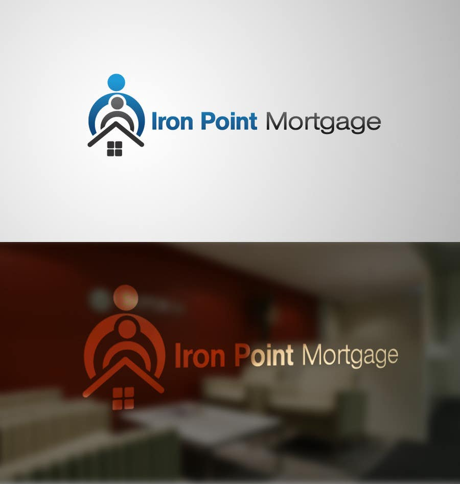 #188 for Logo Design for Iron Point Mortgage by paxslg