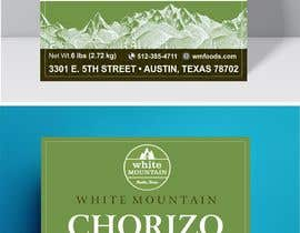 "#21 for 3""x4"" Vertical Food Product Label for White Mountain Foods by kashmirmzd60"