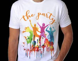 "#92 для T-shirt design ""The Party"" от royg7327"