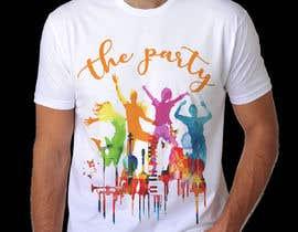 """Nro 92 kilpailuun T-shirt design """"The Party"""" käyttäjältä royg7327"""